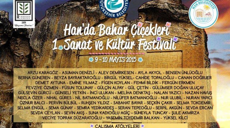 1. Sanat ve Kültür Festivaline Herkesi Bekleriz